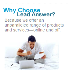 Choose Lead Answer for all your client referral needs